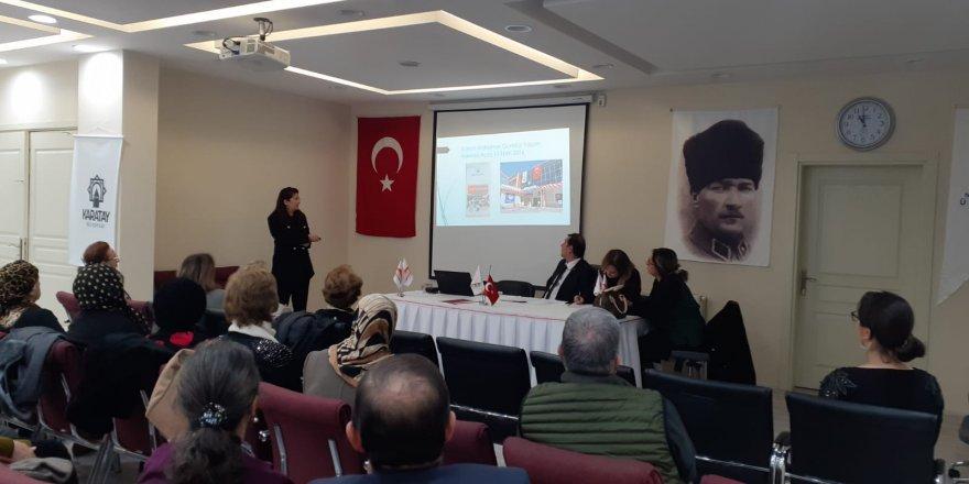 Prof. Dr. Figen Güven, Konya  Alzheimer Derneğinde güven tazeledi.