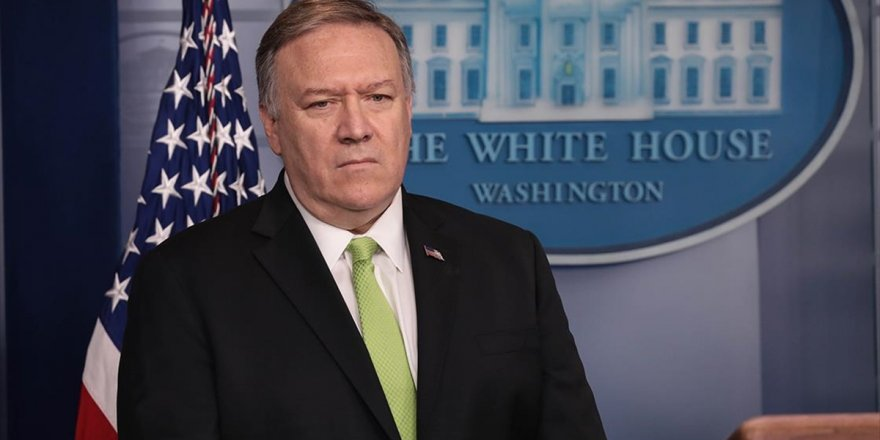 Abd Dışişleri Bakanı Pompeo: Jeffrey'i Suriye'deki Adımları Koordine Etmesi İçin Ankara'ya Gönderdim