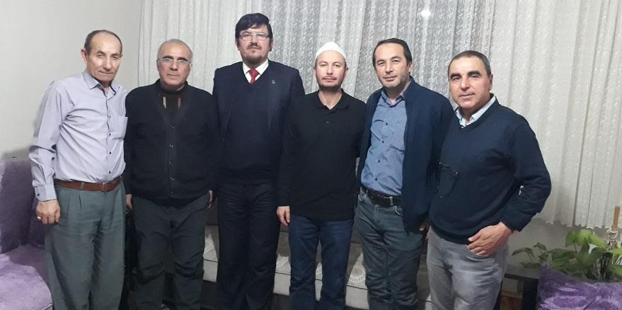Başkanlar İdlib gazisini ziyaret etti