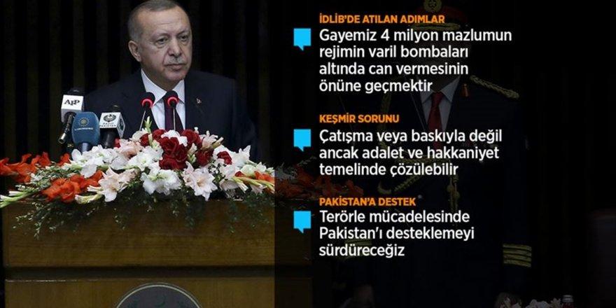 Cumhurbaşkanı Erdoğan: 'Yüzyılın Barış Planı' Diye Yutturulan Plan Bir İşgal Projesidir