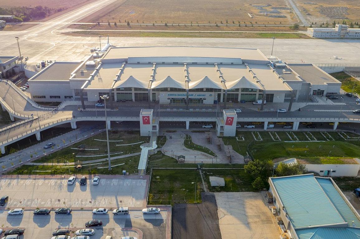 Konya'da 2019'da 1 milyon kişi uçtu