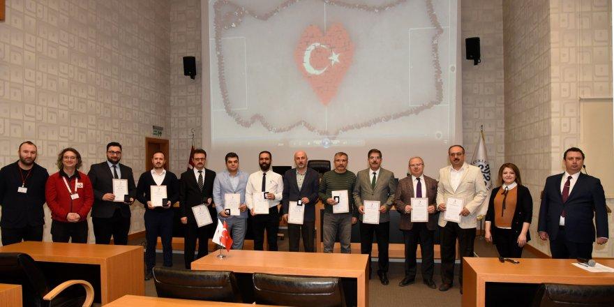 Selçuklu Belediyesi çalışanlarına Kızılay'dan bronz madalya
