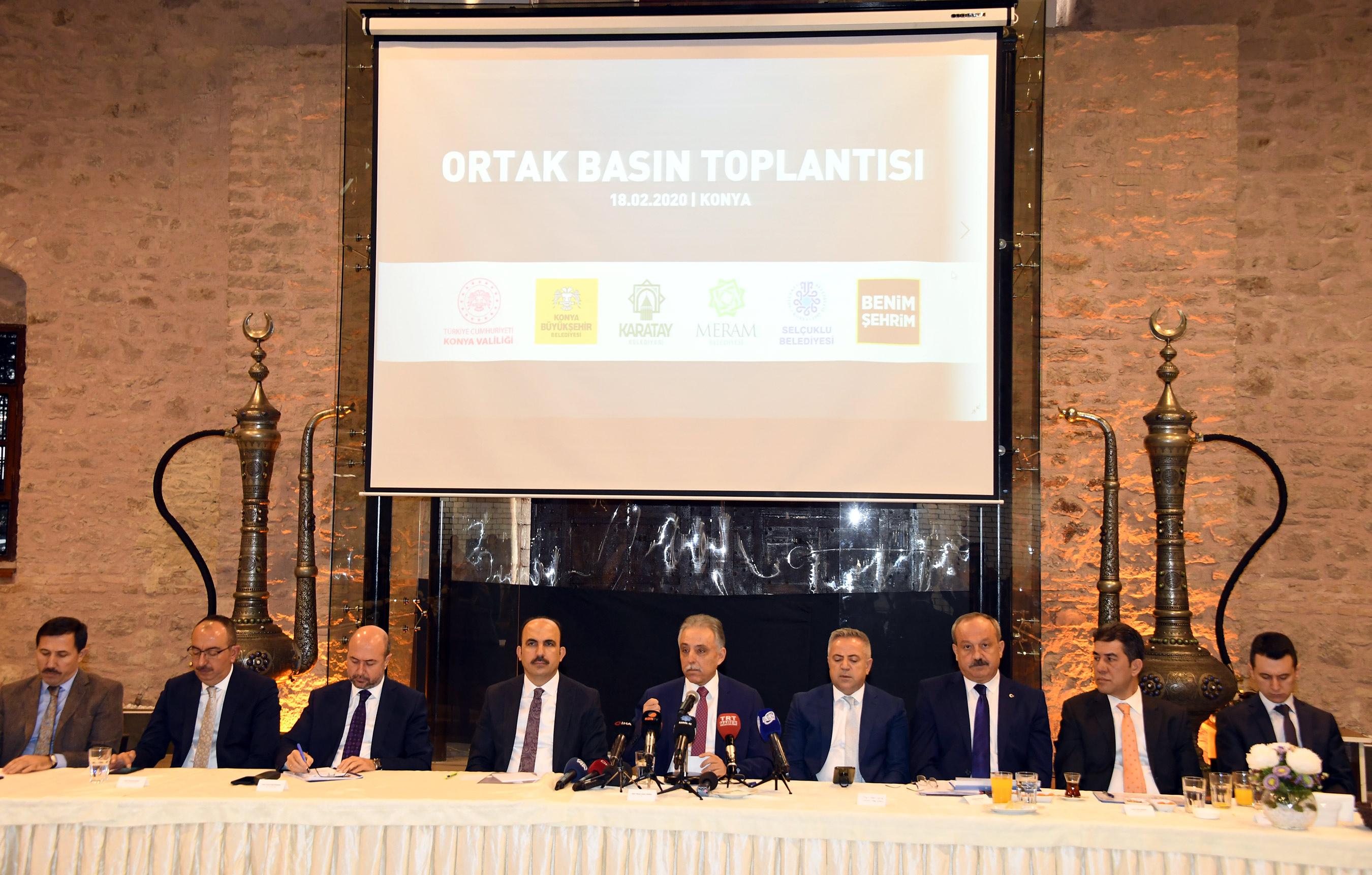 Konya'da vatandaşları rahatsız edecek eylemlere müsaade edilmeyecek!