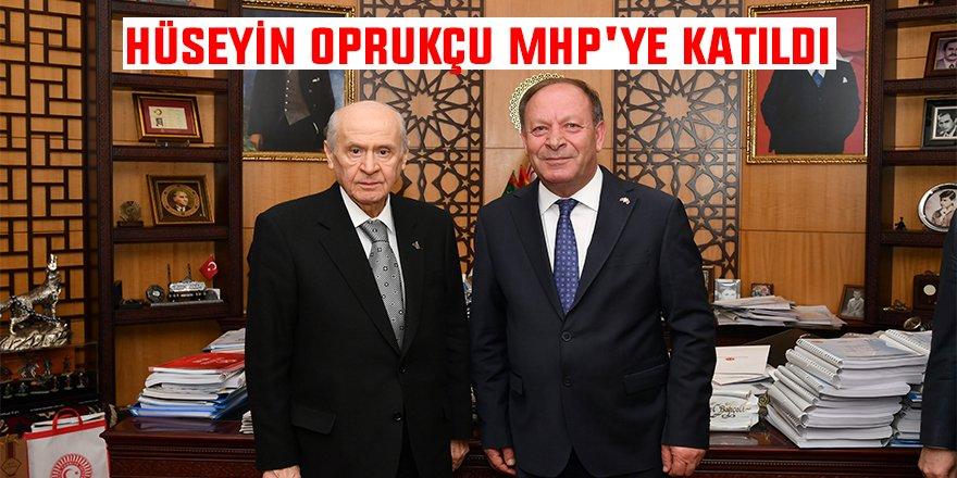 Hüseyin Oprukçu MHP'ye katıldı
