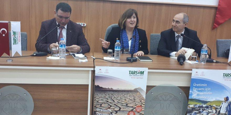 SÜ Ziraat Fakültesi'nde tarım sigortaları paneli