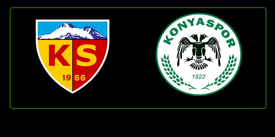 Hes Kablo Kayserispor: 1 - İttifak Holding Konyaspor: 2 (İlk yarı)