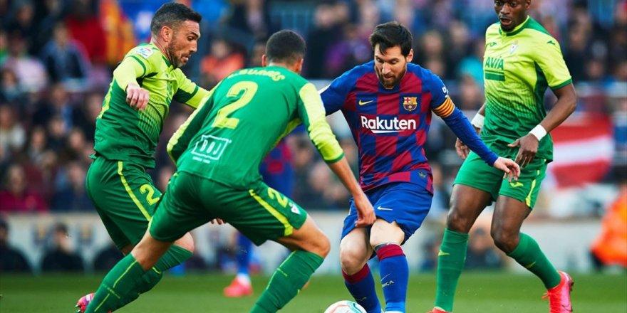 Barcelona Messi İle Kazandı