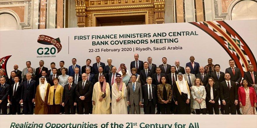Bakan Albayrak'tan G-20 Finans Bakanları Toplantısı'na İlişkin Açıklama