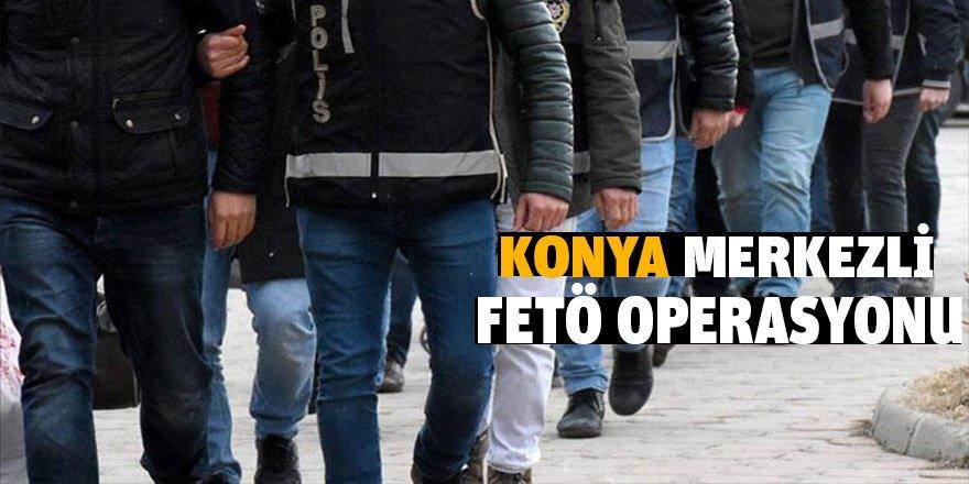 Konya Merkezli 24 İlde Fetö'nün Tsk İçindeki Kripto Yapılanmasına Operasyon