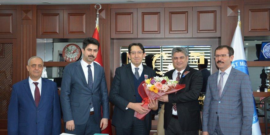 """Konya SMMMO Başkanı Erdal: """"Vergi Dairemizin destekçisi olmaya devam edeceğiz"""""""