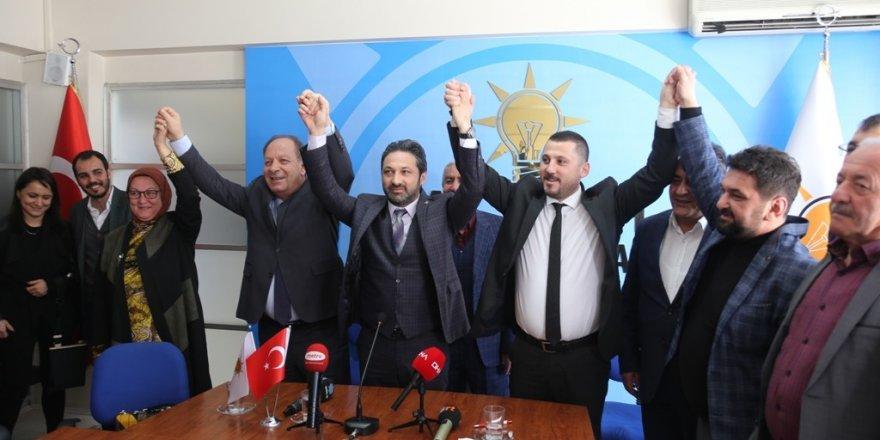 Oprukçu, AK Parti'yi ziyaret etti