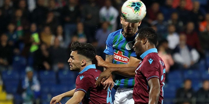 Trabzonspor İle Çaykur Rizespor 38. Randevuda
