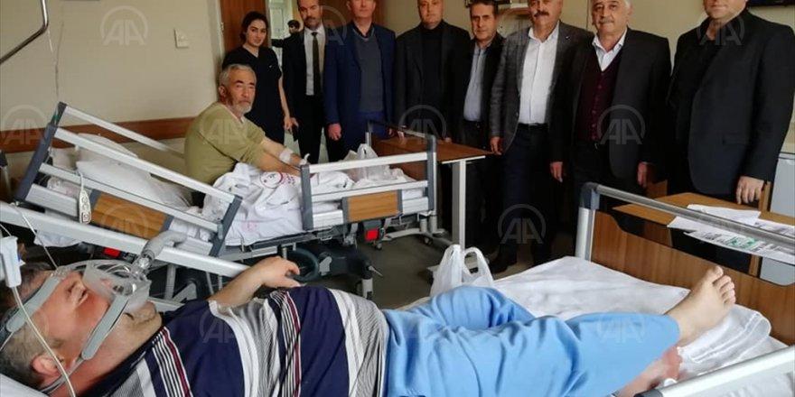 Oda Başkanlarının Hastane Ziyareti