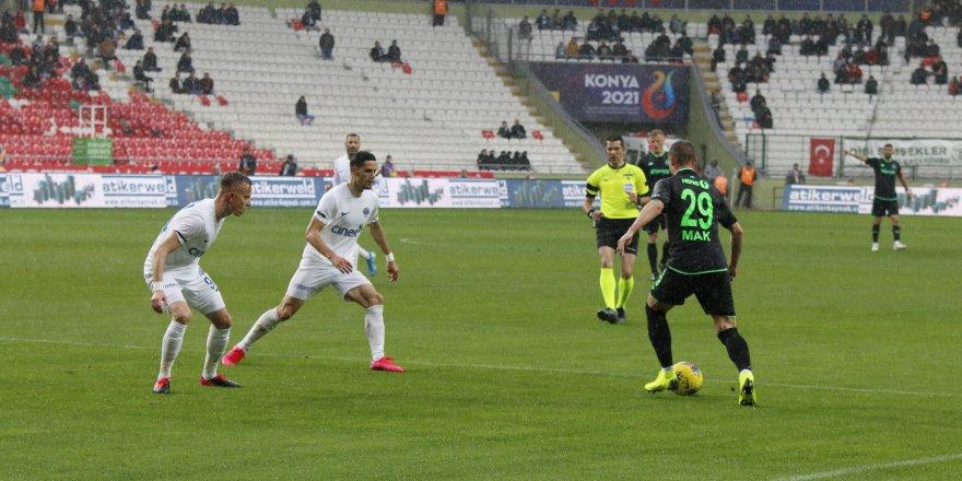 Konyaspor: 0 - Kasımpaşa: 0 (İlk yarı)