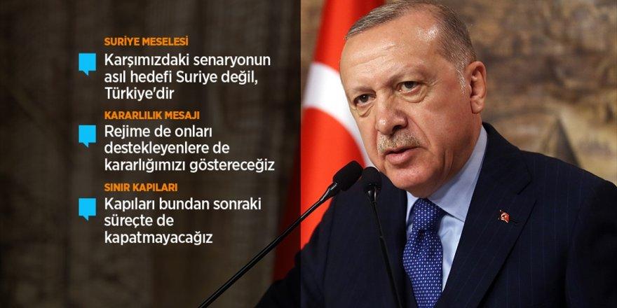 Cumhurbaşkanı Erdoğan: Şu Ana Kadar 2 Bin 100'ün Üzerinde Rejim Askeri Öldürüldü