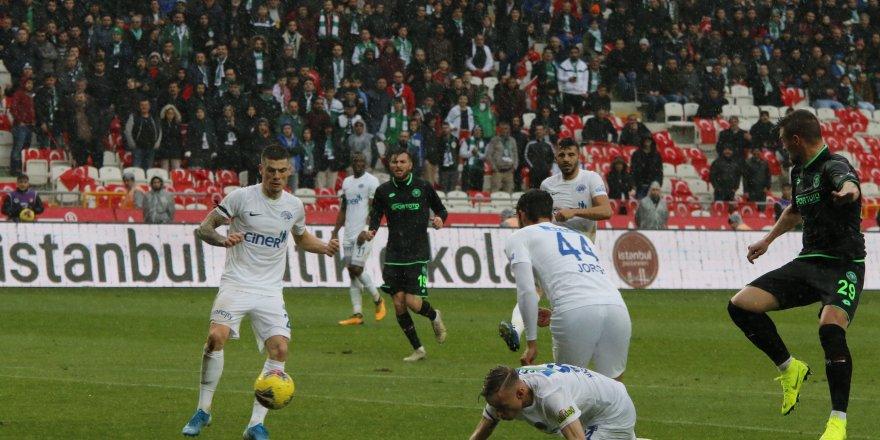 Konyaspor: 0 - Kasımpaşa: 0 (Maç sonucu)