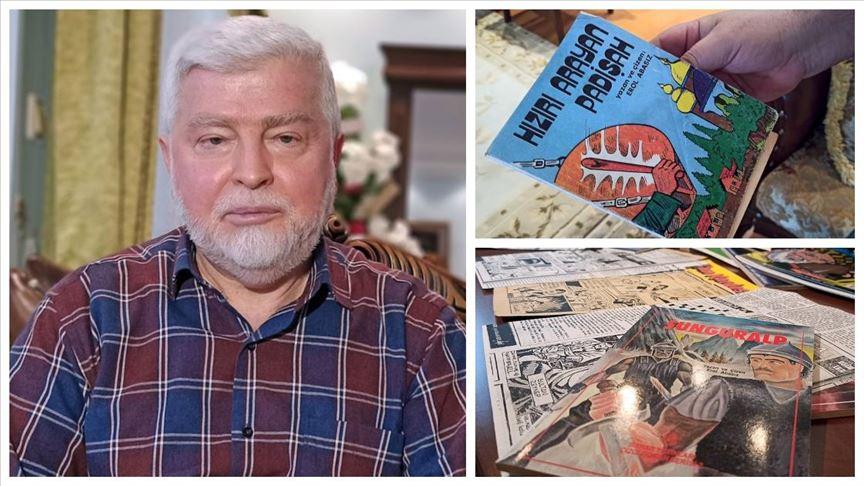 Türkiye'de sadece Batılı çizgi romanlar var
