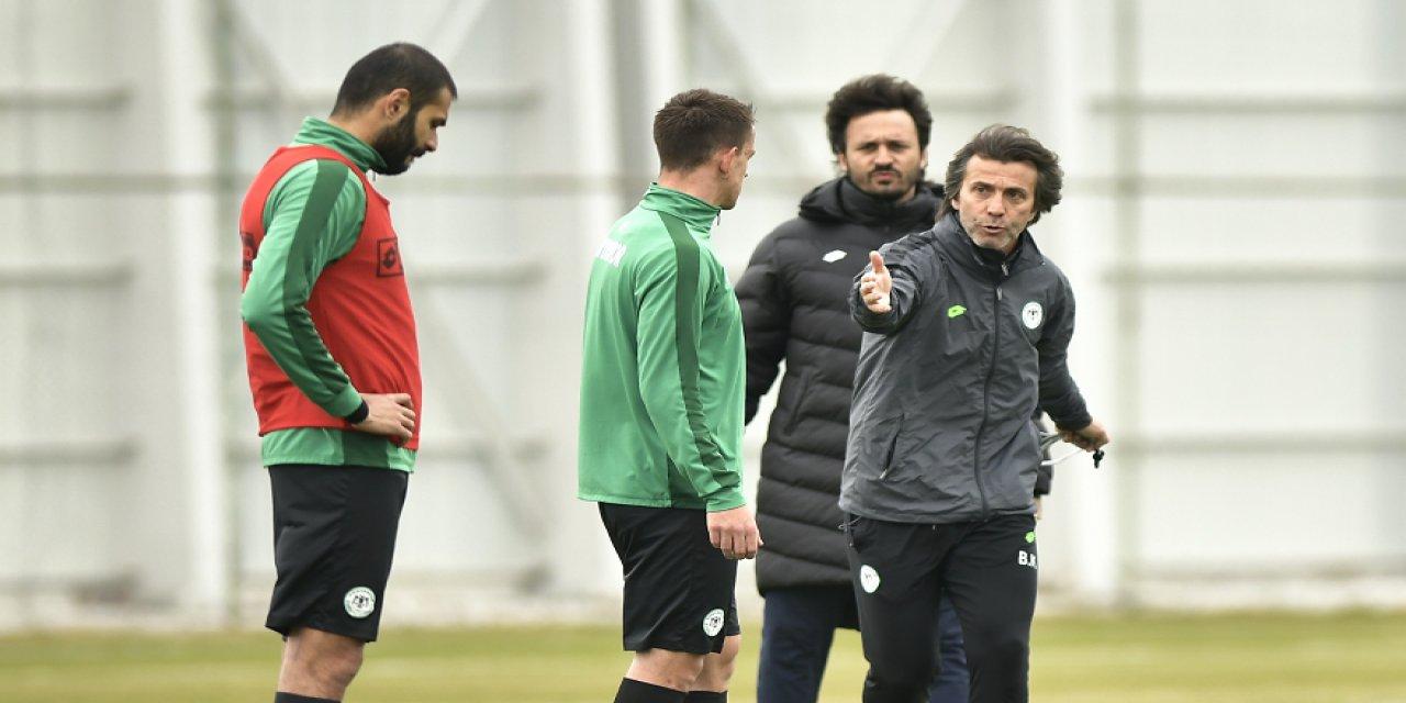 Konyaspor'da 14 futbolcunun  sözleşmesi sona eriyor