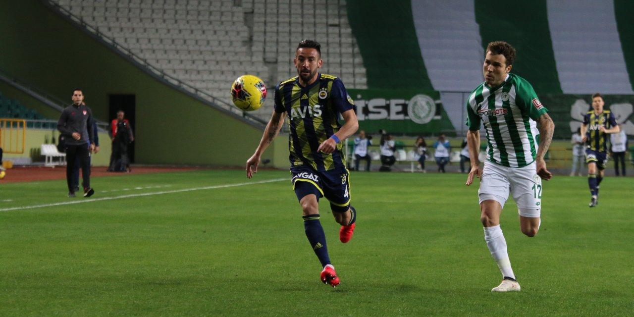 Konyaspor: 1 - Fenerbahçe: 0 (ilk yarı )