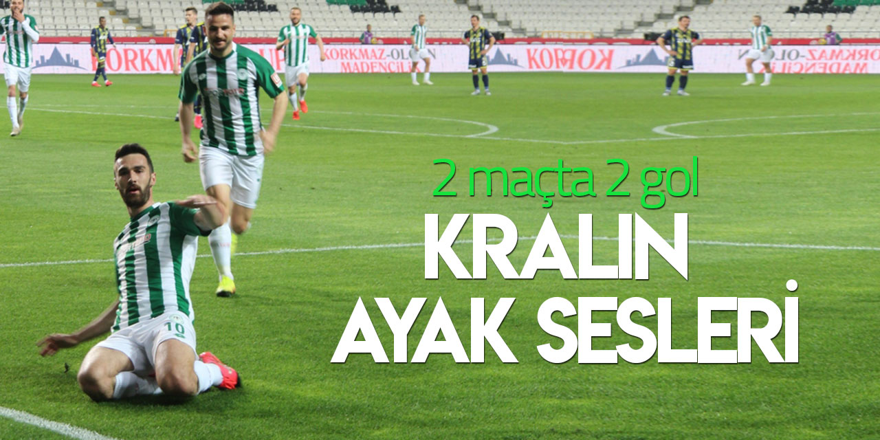 Konyaspor'da Bajic'in formu yükseliyor