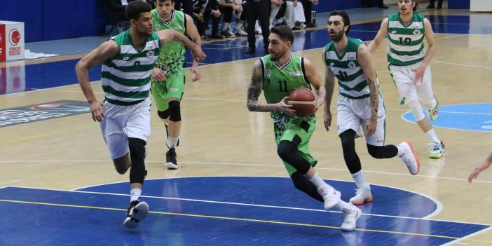 Konyaspor Basketbol'dan kritik galibiyet