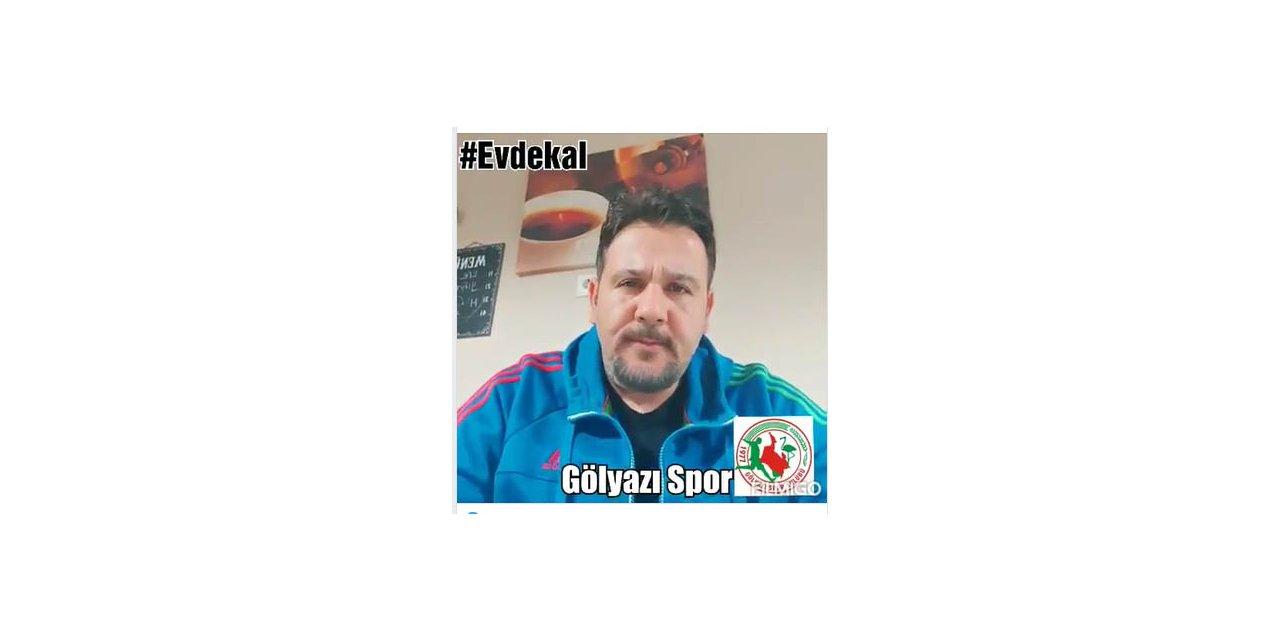 Gölyazıspor'dan #EVDEKAL mesajı