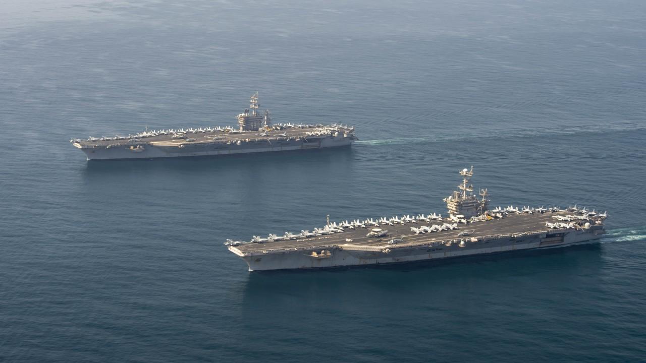 ABD'den İki Uçak Gemisi İle İran'a Mesaj