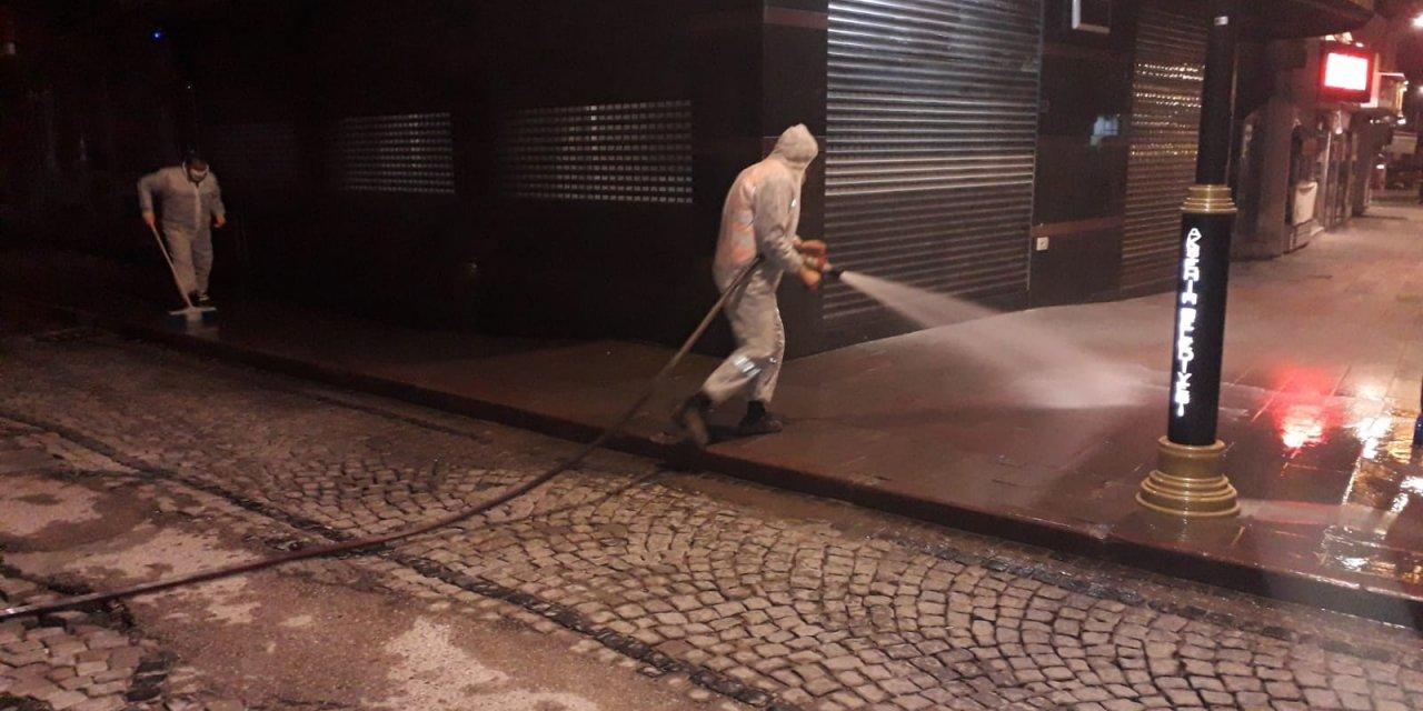 Akşehir dezenfekte ediliyor