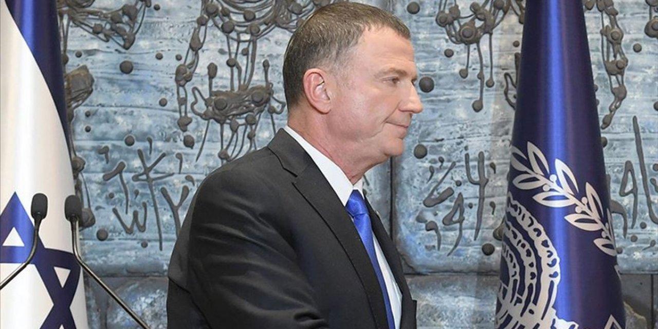 İsrail Meclis Başkanı Edelstein İstifa Etti