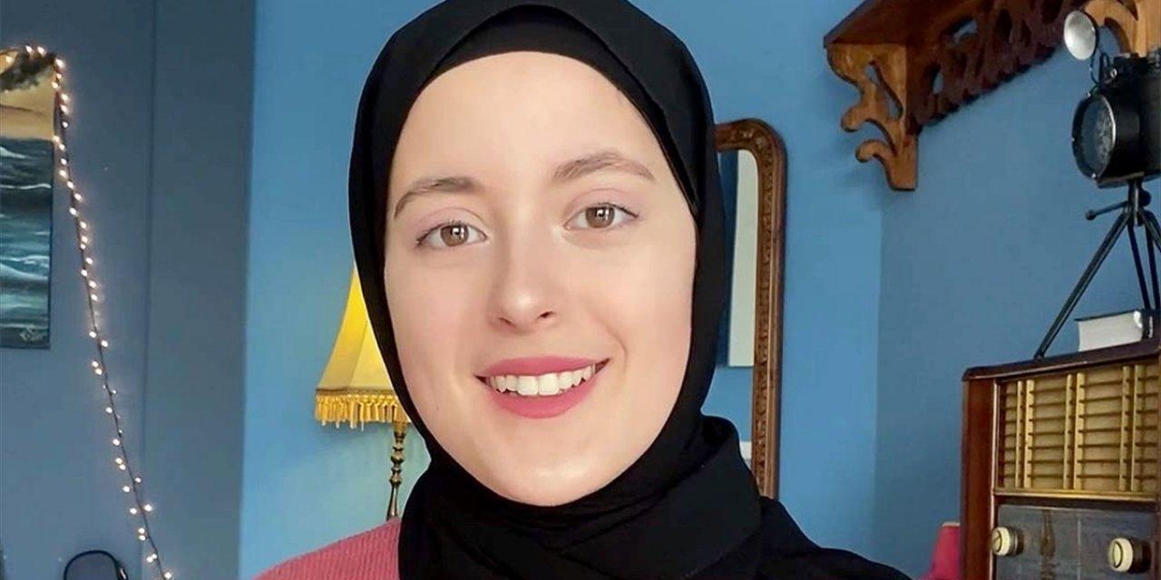 Tunuslu Sanatçıdan Türkiye'ye İstiklal Marşı Ve İzmir Marşıyla Destek