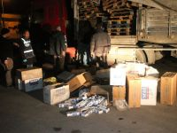 40 bin paket kaçak sigara ele geçirildi
