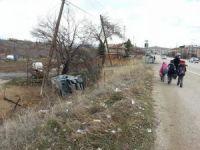 Konya'da minibüs ile otomobil çarpıştı: 5 yaralı