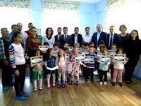 Seydişehir'de okul öncesi santranç eğitimi tamamlandı