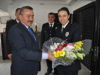 Emniyet Teşkilatı'ndan Başkan Tutal'a ziyaret