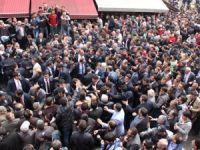 Konya'da Davutoğlu izdihamı
