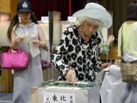 Japonya'da halk sandık başında