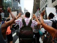 ABD'de polis şiddeti protestolarında 80'in üzerinde gözaltı
