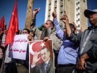 Gazze'den Erdoğan'a destek