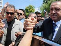 Cumhurbaşkanı Erdoğan Osmanlı Camisi'ni Ziyaret Etti