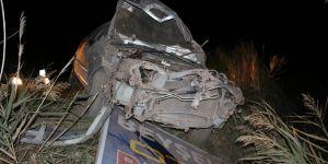 Otomobil takla attı:1 ölü, 1 yaralı