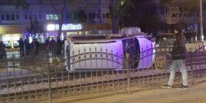 Nalçacı'da kaza
