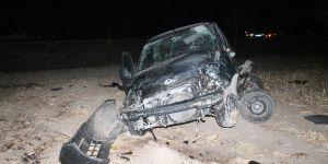 Fatma Toru'nun aracı kaza yaptı