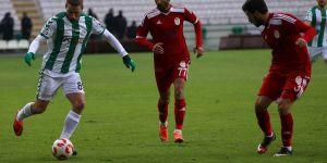 Atiker Konyaspor 3 Gümüşhanespor 0