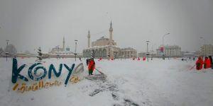 Konya'da hangi ilçelerde okullar tatil edildi?