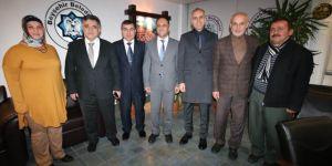 DSİ 4. Bölge Müdürü Çınar'dan Beyşehir Belediyesi'ne ziyaret