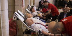 Tbmm'den Kızılay'ın Kan Bağışı Kampanyasına Destek