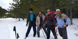 Dağcılar Üç Metre Karda Yürüyüş Yaptılar
