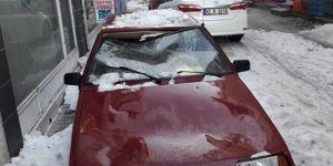 Kar otomobili bu hale getirdi