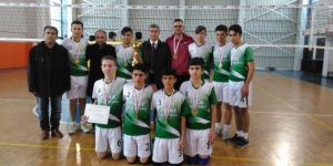 Konya'da B Gençler Voleybol turnuvası