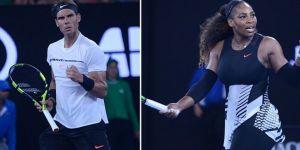 Nadal Ve Serena Williams Üst Turda